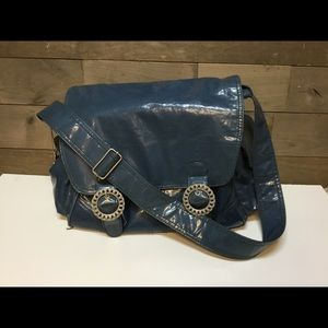 Kalencom New Orleans Blue Diaper Bag